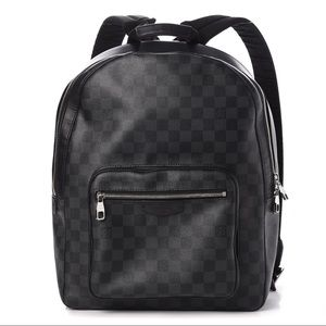 a702314708 Louis Vuitton Damier Graphite Josh Backpack